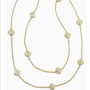 Kendra Scott Nemera Necklace | gold